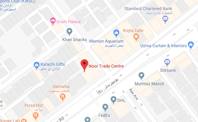 Tradewheel Pakistan Office
